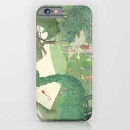 The Night Gardener - Summer Park iPhone Case