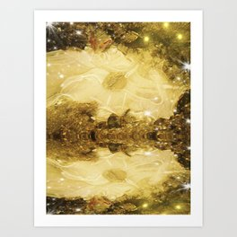 Ice Meltdown. Art Print