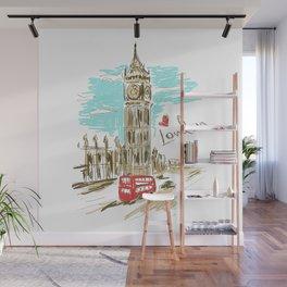 London Wall Mural