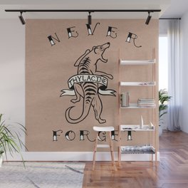 Never Forget - Thylacine Wall Mural