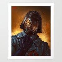 Cobra Commander Art Print