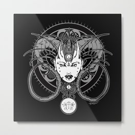The Wife of Marchosias  Metal Print