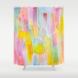 Watercolor Ridge Shower Curtain