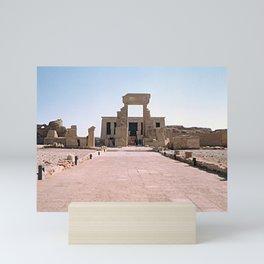 Temple of Dendera, no. 2 Mini Art Print