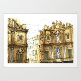 Old Palermo Art Print