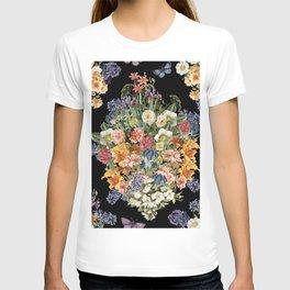 Lush Baroque Floral T-shirt