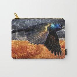 Wild Blackbird Carry-All Pouch