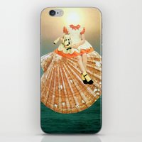 seashell iPhone & iPod Skins featuring Seashell by Tyler Varsell