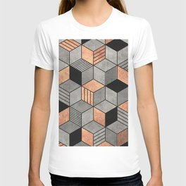 Concrete and Copper Cubes 2 T-shirt