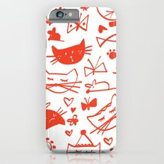 Cats In Red Slim Case iPhone 6s