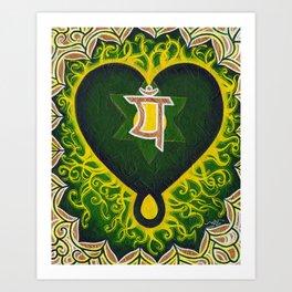 Love is Spiritual Art Print