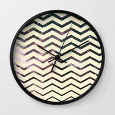 Cosmic Zag Wall Clock