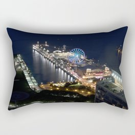 Navy Pier Rectangular Pillow