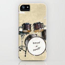 Drumkit iPhone Case