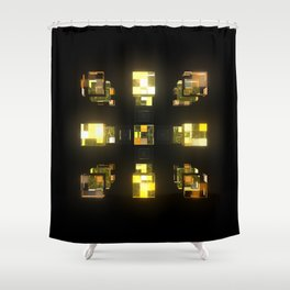 My Cubed Mind: Frame 141 Shower Curtain