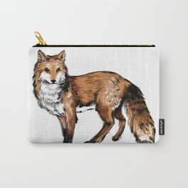Brushed Fox Carry-All Pouch