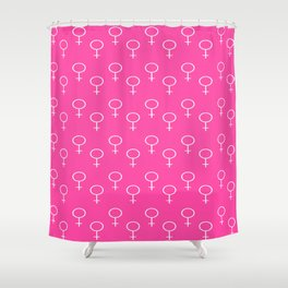 symbol of woman 6 Shower Curtain