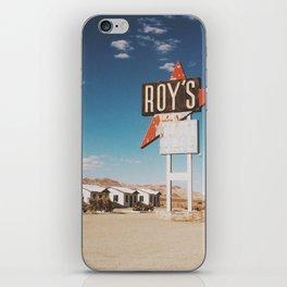Roy's Motel iPhone Skin