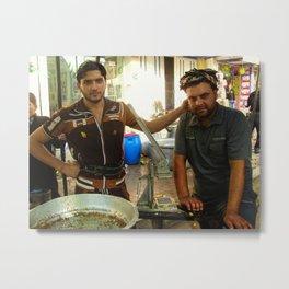 Friends in Karbala Metal Print
