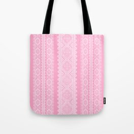 Ukrainian embroidery heavenly pink Tote Bag
