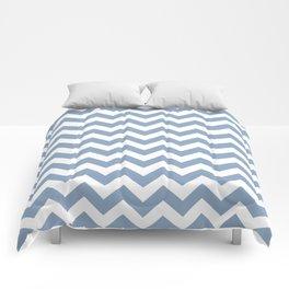 Rock Blue Safari Chevron Comforters