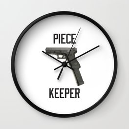 9mm Extended Clip Piece Keeper Wall Clock