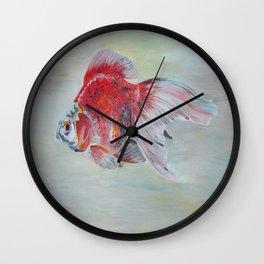 Ryukin Goldfish Wall Clock