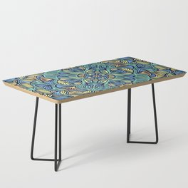 Colorful Mandala Pattern 016 Coffee Table