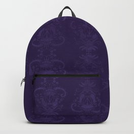 Carnivorous Damask (Indigo) Backpack