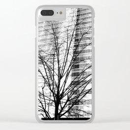 Las venas del cristal Clear iPhone Case