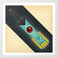 transistor Art Prints featuring The Transistor by Liam Ball
