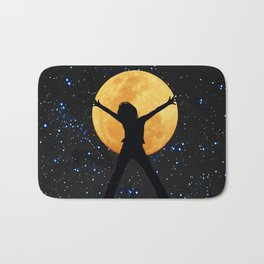 Super moon in November 2016 Bath Mat