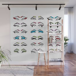 Liner Color Wall Mural