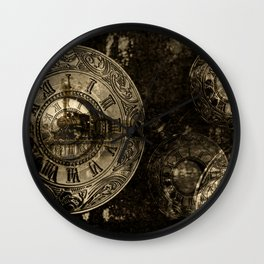Time for the Train Wall Clock