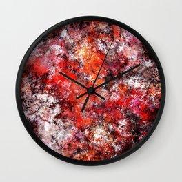 The red sea foam Wall Clock