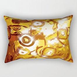 The glowing sun Rectangular Pillow