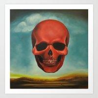 Tribute to Dali Art Print