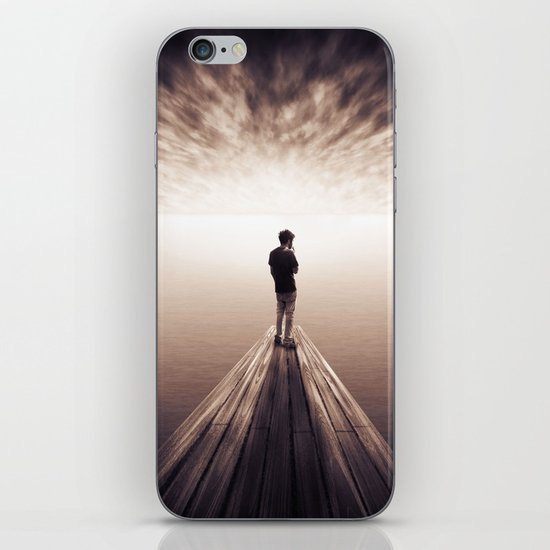 The Sky is getting closer iPhone & iPod Skin
