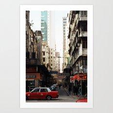 Hong Kong Art Print