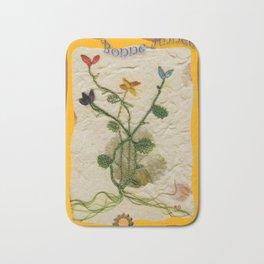 Carte de vœux en dentelle aux fuseaux Bath Mat