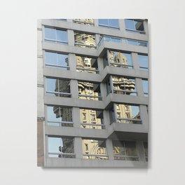 Palacio Salvo Metal Print