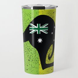 Cute Australian kangaroo Travel Mug