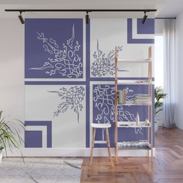 Lavender Shelf Wall Mural