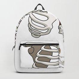 Baseball Skeleton Backpack