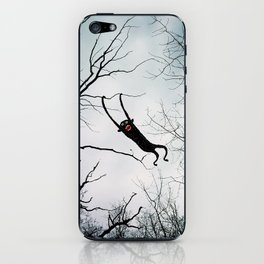 Monkey in a tree iPhone Skin