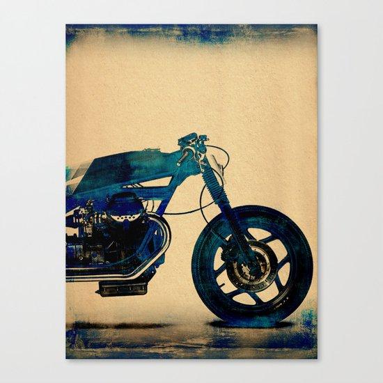 Metalic Blue Canvas Print