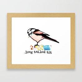 Long Tailed Tit Framed Art Print