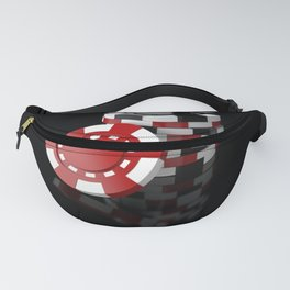 CASINO CHIPS Fanny Pack
