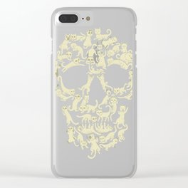 Catskull Clear iPhone Case