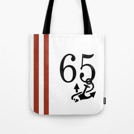Nautical Number Print Tote Bag